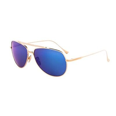e66f1277056 Dita Flight 004 C 18k Pol Gold Grey Blue Mirror Ar Polarized Lens Men  Sunglasses •