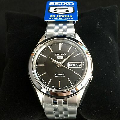 $ CDN169.10 • Buy SEIKO 5 SNKL23 SNKL23J1 21 Jewels Automatic Japan Made 30m WR Box & Warranty !