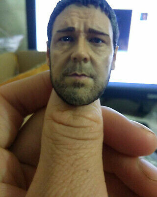 $25 • Buy  1/6 Gladiator Russell Ira Crowe Head Sculpt For Hot Toys Enterbay Body Toys