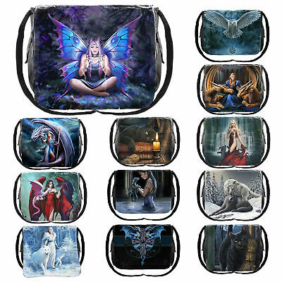 Nemesis Now Messenger Bag 26cm High Tablet Small Laptop Cross Body School Bag • 23.98£
