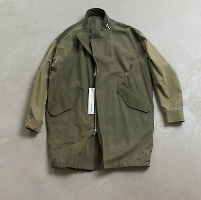 $1750 • Buy Julius Abendroth M65 Fishtail Parka Handmade In Germany Fear Of God Readymade