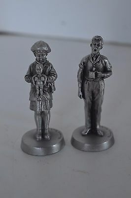 $ CDN13.79 • Buy Vintage Metal Pewter Norman Rockwell Dave Grossman Lot Of 2 Figurines Lot1