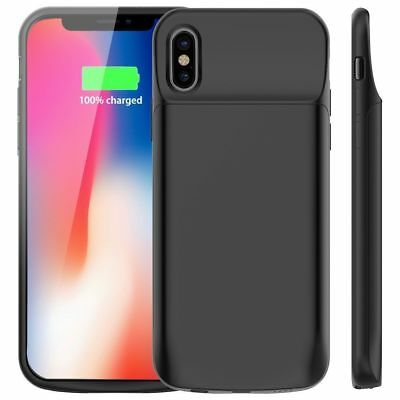 AU28.45 • Buy For IPhone X Battery Case 6000mAh Rechargeable Charger Portable Charging Cover