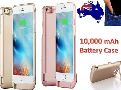 AU29.03 • Buy Power Bank Charger Battery Case For Apple IPhone 8 Plus 7 6+ 6 6S Plus 10,000mAh