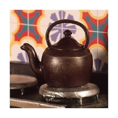 Stove Kettle Dolls House Miniature Kitchen Accessory. Cooking 1,12 Scale • 1.99£