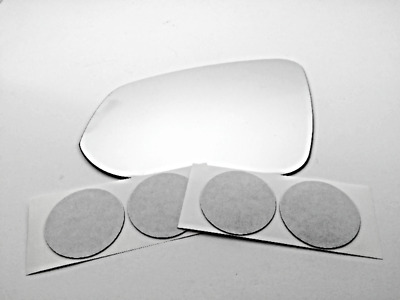 Fits 16-18 Rav4 Right Pass Larger Convex Mirror Glass Lens w//Silicone