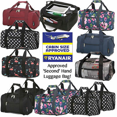 £12.97 • Buy Ryanair 40x25x20cm Carry Hand Cabin Luggage Bag Travel Holdall Small Under Seat