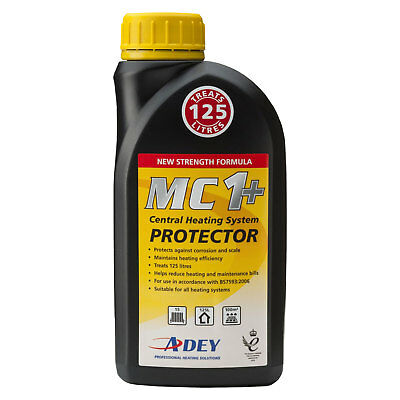 £13.97 • Buy Adey MC1+ Central Heating Protector Inhibitor 500ml New Formula Cleaner