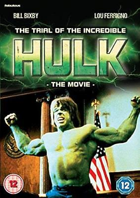 The Trial Of The Incredible Hulk  With Lou Ferrigno New (DVD  2018) • 7.97£