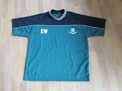 Worcestershire CCC Initials EW Cricket Player Issue Larger Size Shirt • 17.99£