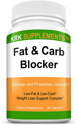 $11.99 • Buy Fat And Carb Blocker Weight Loss Complex Xp Appetite Suppressant Burn Low Keto