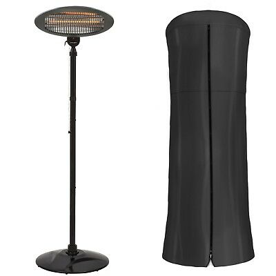 Garden Glow 2KW Electric Patio Heater Standing Party BBQ Outdoor Fire & Cover • 49.99£
