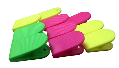 £4.99 • Buy Bulldog Large Extra Strong Clips-  Plastic  - Paper Binder Grip - Receipt Filing