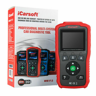 ICarSoft MHM V1.0 Professional Multi-system Auto Diagnostic Scan Tool  For HONDA • 126.77$