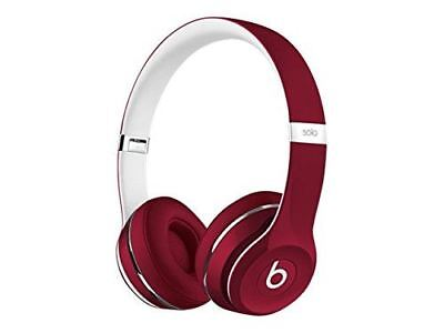View Details Beats By Dr. Dre Solo2 Wired On-Ear Headphones Luxe Edition Red • 39.99£