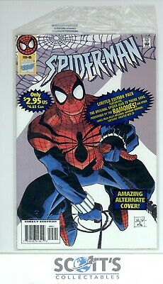 £49.95 • Buy Spider-man #65 With Open Bag & Cassette No Sleeve Vfn/nm (board & Bagged)
