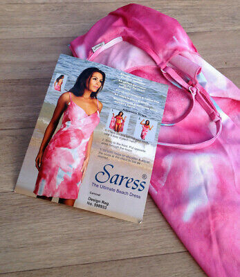 SARESS Beach Cover Up Dresss Size Sml - Holiday Beach Cruise BNWT Ladies Pool  • 7.88£