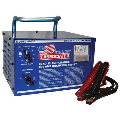 AU707.82 • Buy Heavy Duty Commerical Portable Battery Charger, 6/12/24 Volt ASO6010B Brand New!
