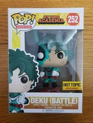 $29.98 • Buy Funko Pop! Battle Deku My Hero Academia - Deku (Battle) Hot Topic Exclusive 252