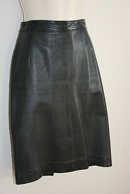 $ CDN40 • Buy Boutique Of Leather's Black Genuine Sheep Skin Leather Lined Mini Skirt. Size M