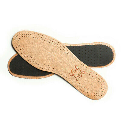 £2.55 • Buy Leather Shoe Insoles Active Carbon Real Inner Sole Boots All Size Ladies Mens