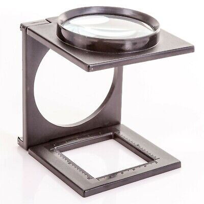 HANDS FREE MAGNIFYING GLASS ON STAND Third Hand Hobby Craft Folding Magnifier • 4.05£
