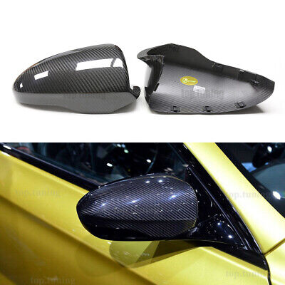 $324.72 • Buy For BMW F10 M5/F06 F12 F13 M6 Replacement Style Carbon Fiber Side Mirror Covers