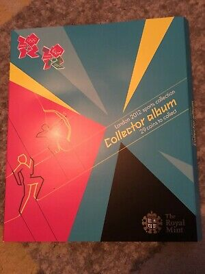 £400 • Buy The Royal Mint London 2012 Sports Collection Collector Album 29 Coins To Collect