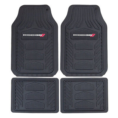 $56.98 • Buy New 4pc DODGE RAM Black Car Truck SUV Heavy Duty All Weather Rubber Floor Mats