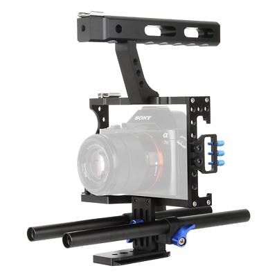 $ CDN160 • Buy Camera Cage Kit For Sony A7,A7R,A7S,A7II,A7RII,A7SII,Panasonic GH4 With Follow F