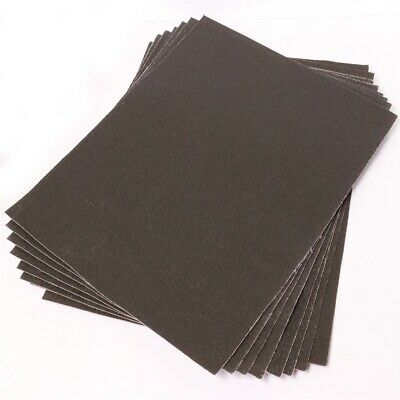 £5.13 • Buy Large Emery Cloth Sheets Pack 60+100+150 GRITS Fine/Coarse Strong Sandpaper