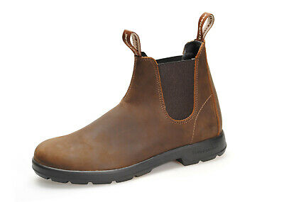 Trackstone - Italian Made Chelsea Boots In Brown Or Grey Nubuck Leather - Unisex • 64.75£