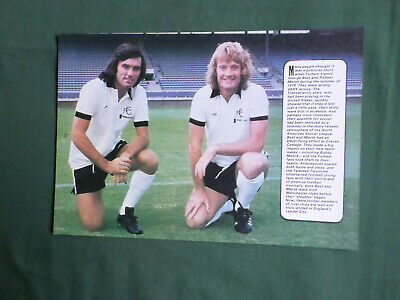 George Best - Rodney Marsh - Fullham  Football Players-1 Page  Picture Clipping  • 1.99£