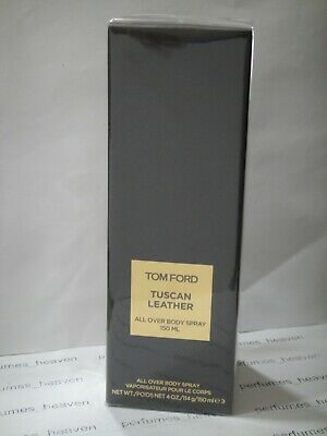 423d1f151c43 TOM FORD TUSCAN LEATHER SCENTED ALL OVER BODY SPRAY 5oz   150ML SEALED BOX  NEW •