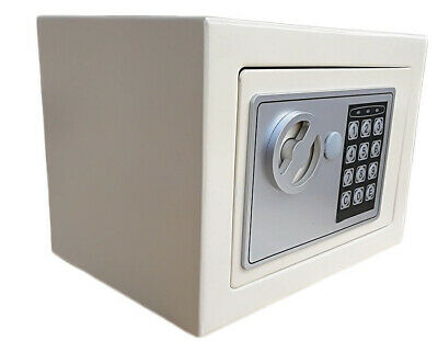 Secure Digital Steel Safe Electronic High Security Office Money Box Safety Cash • 18.49£
