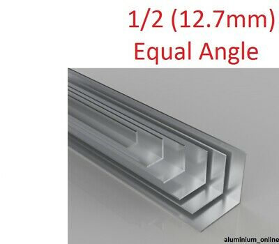 £3.37 • Buy ALUMINIUM EQUAL ANGLE 1/2  (12.7mm) 2 Thickness, Lengths Up To 2.5m