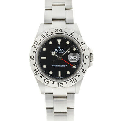 $ CDN10562.19 • Buy Rolex 16570 Explorer II Black Dial Stainless Steel Automatic Men's Watch