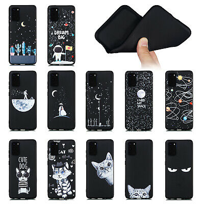 $ CDN3.91 • Buy For Samsung Note20 S20 Ultra S10e S9+ Soft Silicone Painted Matte TPU Case Cover