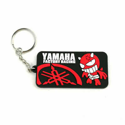 AU10.95 • Buy Yamaha Factory Racing Red Rubber Keyring Keychain Key Chain Key Ring  Gift