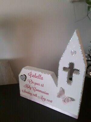 Personalised First Holy Communion Gift • 10.99£