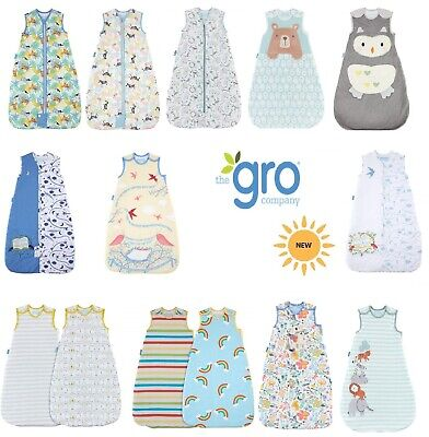 Grobag Baby Sleeping Bag 0 6 18 36 Months  2.5 / 3.5  Tog All Designs • 26.99£