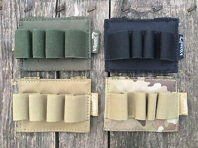 Viper MOLLE Shotgun Cartridge Holder 12G Shell Ammo Panel Pouch Tactical Airsoft • 3.99£