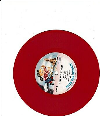£19.06 • Buy *****peter And The Wolf---peter Pan Records---victor Jory*****
