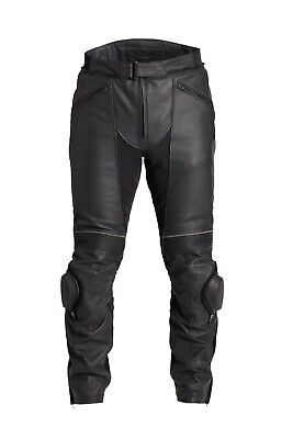 GENUINE Triumph Motorcycles Zora Goretex Black Leather Jeans Trousers NEW 2019 • 450£