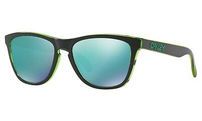 e541551f36b Genuine Oakley Frogskins Special Edition Eclipse Green Sapphire Iridium •  54.95
