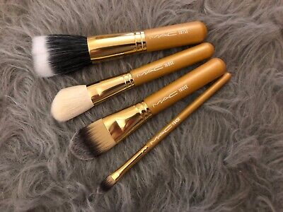 $48.18 • Buy RARE MAC Heirlooms Collection: 4 Face Brushes Set, 168/187/190/194, Brushes ONLY