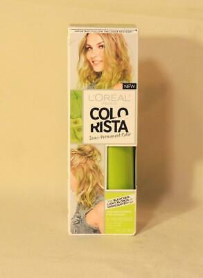 LOREAL COLORISTA SEMI-PERMANENT HAIR COLOR #800 LIME GREEN 4 Oz.. ~ NEW IN BOX • 2.82£