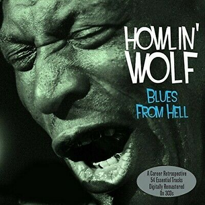 AU20.99 • Buy Howlin' Wolf - Blues From Hell (3 Disc) CD NEW
