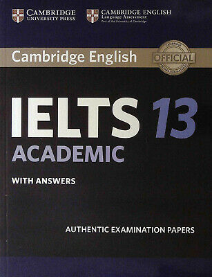 Cambridge English IELTS 13 ACADEMIC With Answers @NEW@ 2018; Book Only! • 18.44£