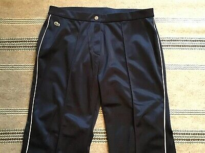 LACOSTE WOMENS TRACKSUIT BOTTOMS New With Tags REALLY COOL SIZE 42 Uk 14 Approx • 25£